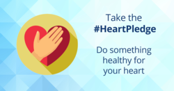 Take the #HeartPledge