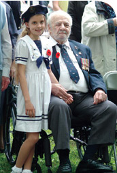 Veteran and child