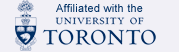 Affiliated with the University of Toronto