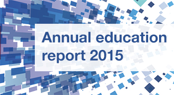 Annual education report 2015