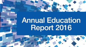 Annual education report 2016
