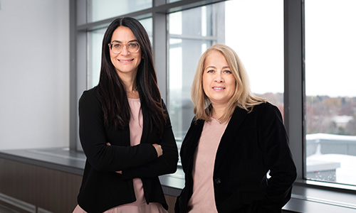 Lesley Gotlib Conn, Affiliate Scientist, Evaluative Clinical Sciences, Trauma, Emergency & Critical Care Research Program, and Lisa Di Prospero, Director, Practice-based Research & Innovation