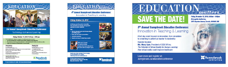 Posters from past Education Conferences