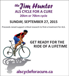 Jim Hunter ALS Cycle for a cure