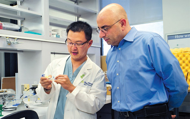 Drs. Vincent Lin and Alain Dabdoub