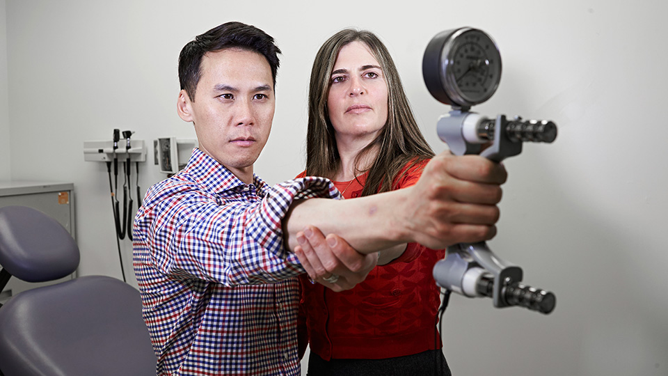 Drs. Rena Buckstein and Matthew Cheung
