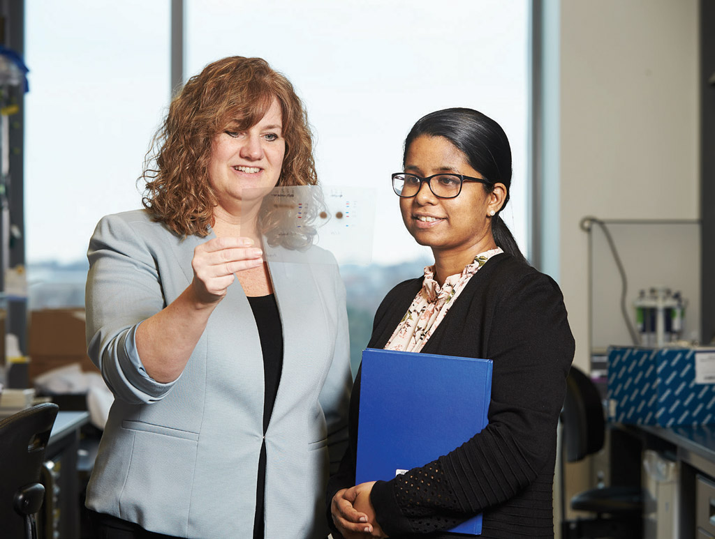 Dr. Michele Anderson and Dr. Johanna Selvaratnam
