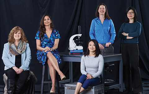 Women in science: a lab of their own