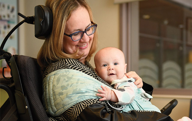 For women with disabilities who want to be mothers, one size does not fit all