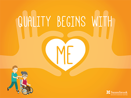 Quality begins with me poster