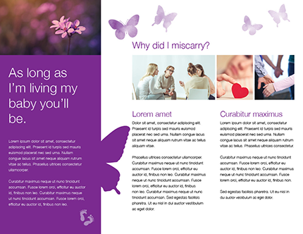 Miscarriage brochure