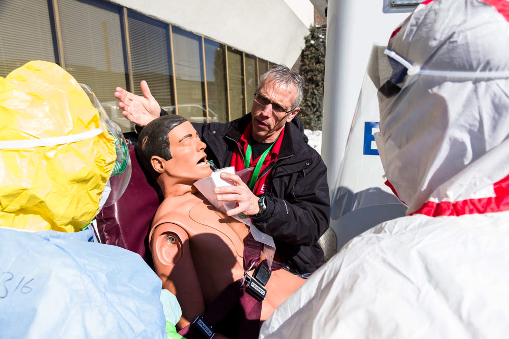 Medical demonstration photography