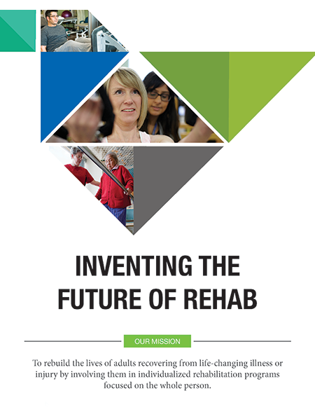 St. John's Rehab Strategic plan cover
