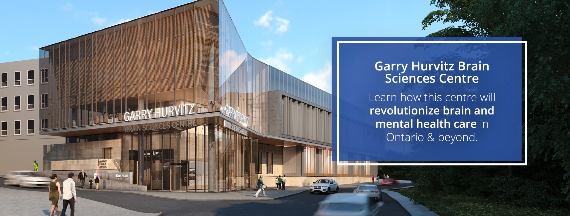 Learn how the Garry Hurvitz Brain Sciences Centre will revolutionize brain and mental health care in Ontario and beyond