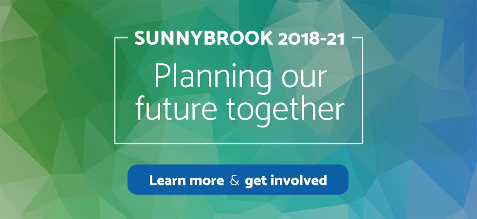 Sunnybrook 2018-21: Planning our future together