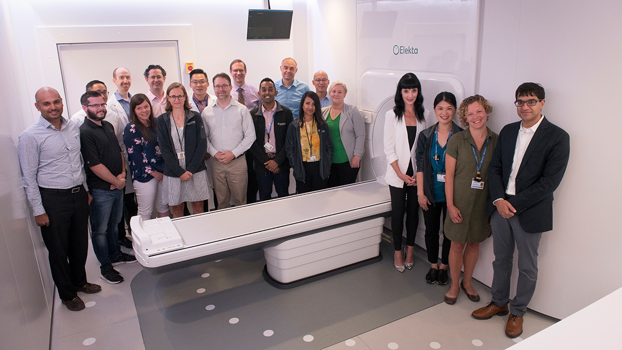 MR-Linac and team