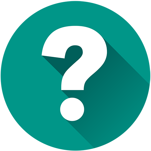 Ask us a question icon.