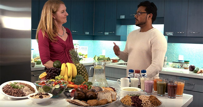 Video: Eating well during cancer