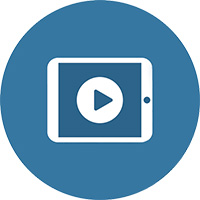 My video learning icon.