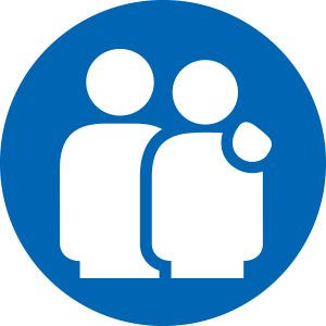Service & supports icon.