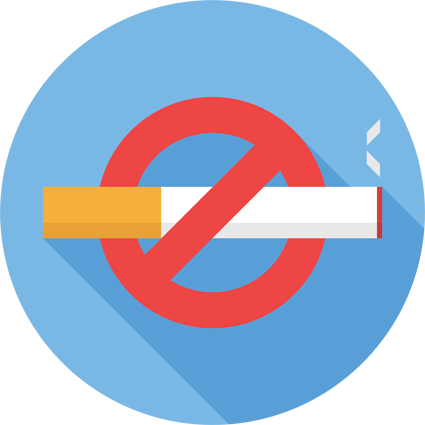 Pledge to quit smoking