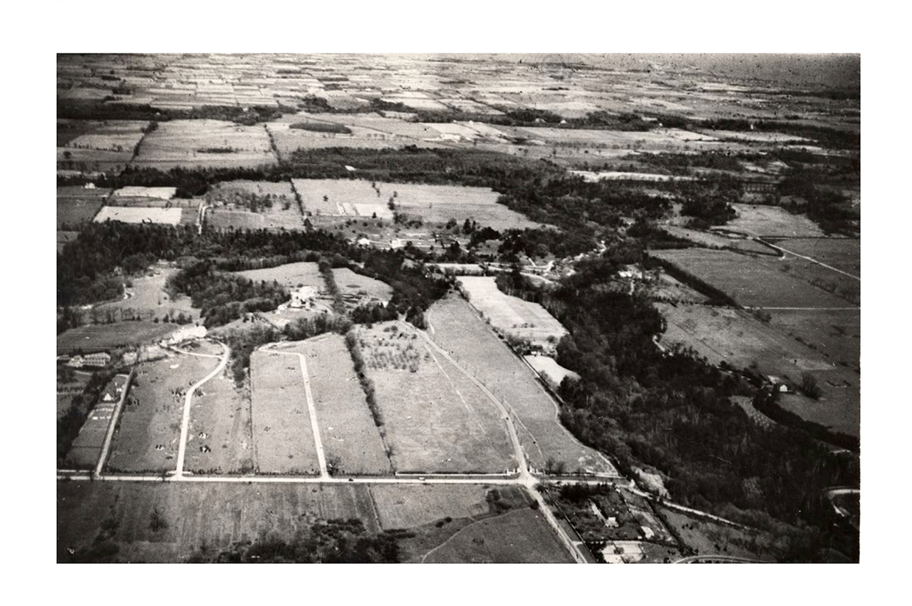 Sunnybrook Park, aerial view. 1940.