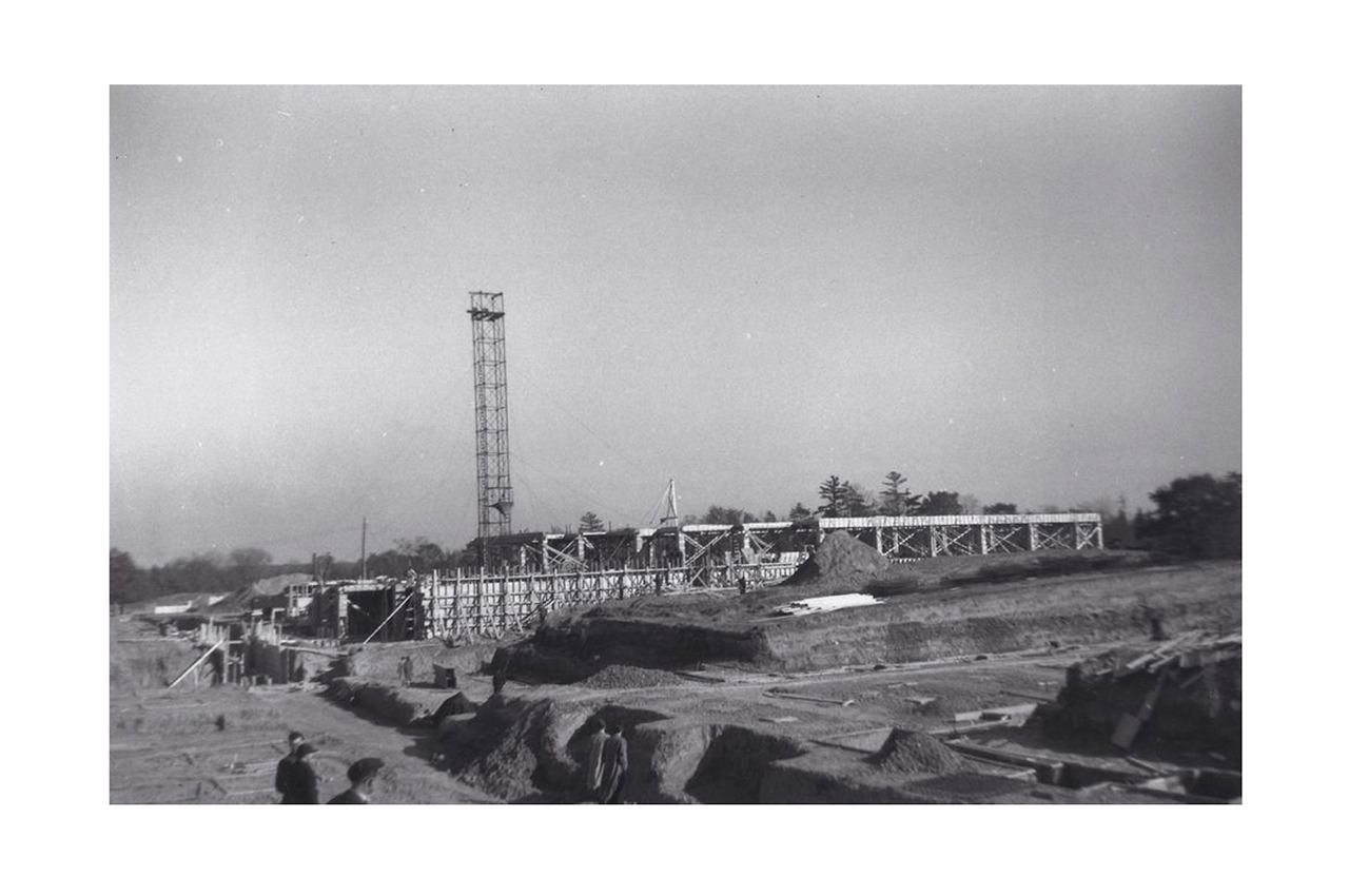 Sunnybrook under construction. October 1944