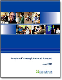 Sunnybrook's Strategic Balanced Scorecard - PDF