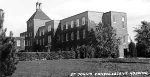St. John's Convalescent Hospital, historical image