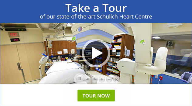 Tour our state-of-the-art Schulich Heart Centre