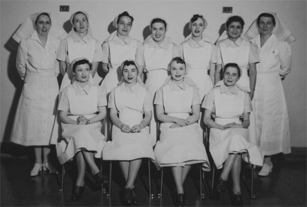 first class of nursing students