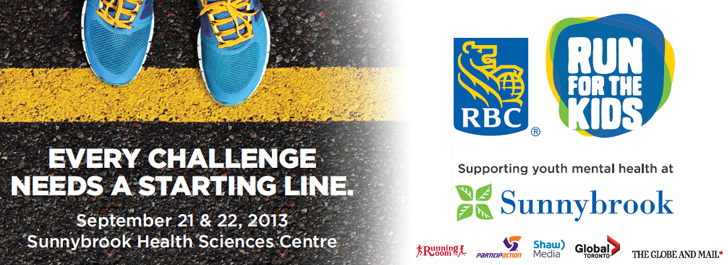 RBC Run for the Kids - September 21 and 22, 2013