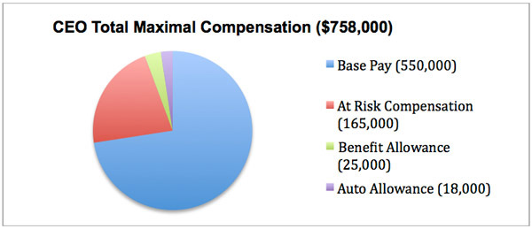 CEO Total Maximal Compensation