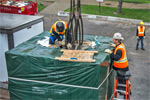 Cyclotron installation
