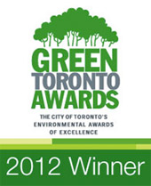 Learn more about the Green Toronto Awards (Winner 2008) from this Sunnybrook news release