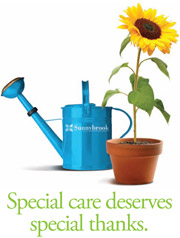 Special care deserves special thanks