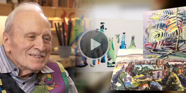 Veterans art therapy video